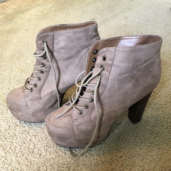 Shoes - Platform chunk heels